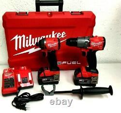 Milwaukee Fuel M18 2997-22 18-volts 2-tool Hammer Drill/impact Driver Kit, N