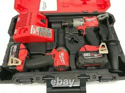 Milwaukee Fuel M18 2997-22 2-outils 18-volt Hammer Drilling/impact Driver Kit Gr