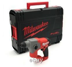Milwaukee M12ch-x 12v Compact Sds Hammer Drill Avec Boîtier (corps Seulement)