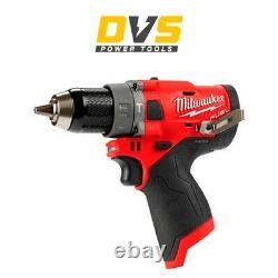 Milwaukee M12fpd-0 12v M12 Fuel Marteau Perforateur Conducteur Boîtier Nu