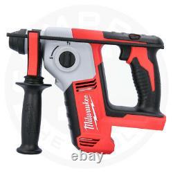 Milwaukee M18bh-0 18v Li-ion Compact Sds Hammer Drill Avec Bande Libre 8m/26f