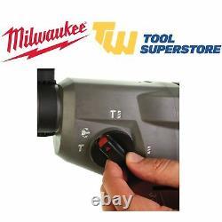 Milwaukee M18chx-0 M18 18v Fuel Sans Brosse Sds+ Plus Corps De Forage De Marteau Seulement