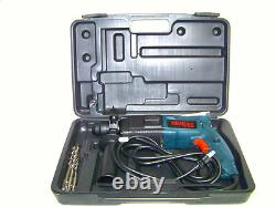 Moller H D 3/4 Electric Rotary Hammer Drill Kit Bits Sds Plus Concrete Steel