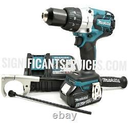 Nouveau Makita Xph07z 18v Lxt Sans Fil Sans Brosse 1/2 Hammer Drill Driver 5.0 Ah Kit