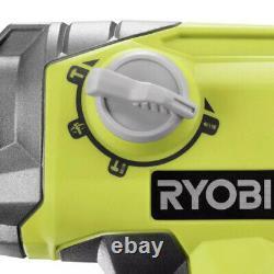 Perceuse À Marteau Rotatif Ryobi P222 18 Volt One+ Lithium-ion 1/2 Sds-plus Outol Seulement
