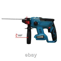 Pour Makita Dhr242 18v Cordless Sds Plus Rotative Hammer Drill 4 Modes Body Only