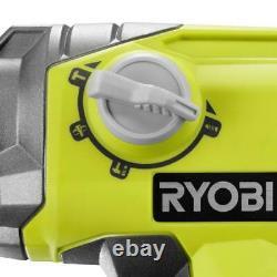 Ryobi 18v One+ Foret À Marteau Rotatif Sans Fil De 1/2 Po Sds-plus (outil Seulement)