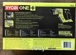 Ryobi P222 18 Volts One+ Lith-ion 1/2 Sds-plus Forage À Marteau Rotatif (outil Seulement)