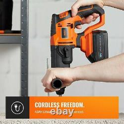 Vonhaus Cordless Sds Drill Marteau Rotatif 20v Max