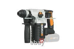 Worx Wx380.9 18v (20v Max) Sans Fil Sans Brosse 2.0kg Rotatif Hammer Body Only