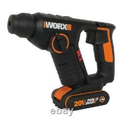 Worx Wx394,3 18v (20v Max) Perceuse De Marteau Rotatif Sans Fil 1,5kg